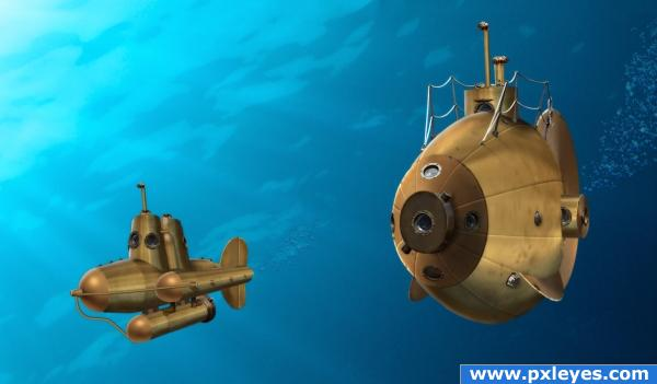 Steampunk submarines