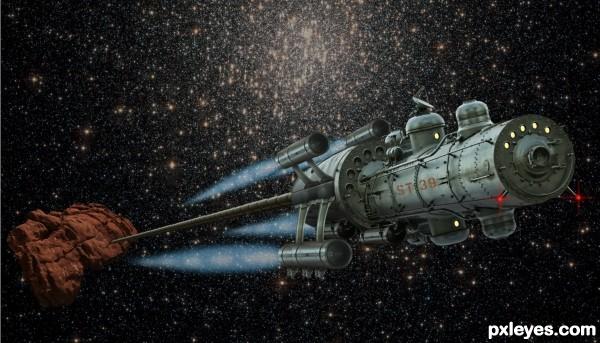 Hauling asteroid