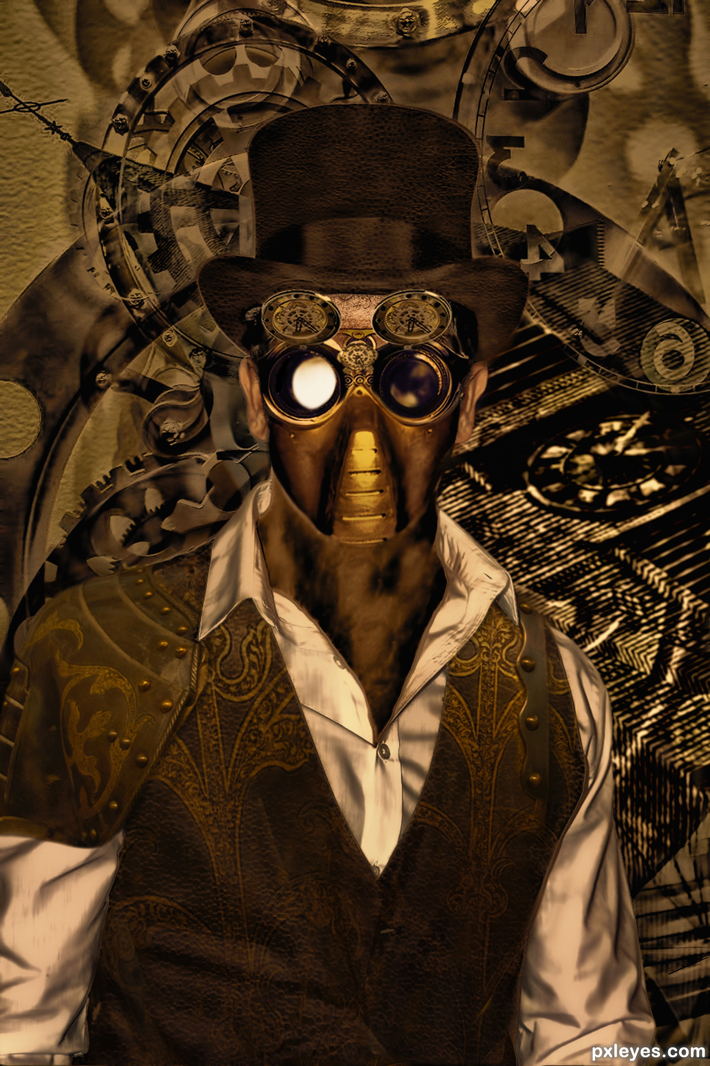 Time Is A Gold Picture By Tijeras For Steampunk Google