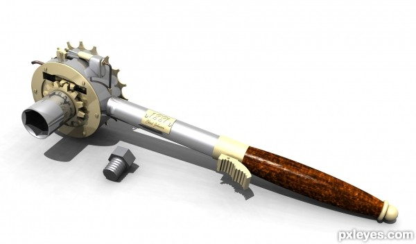 Steampunk Socket Wrench