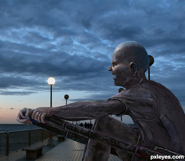Statue on the Pier