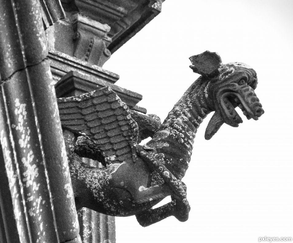 Mighty stony dragon