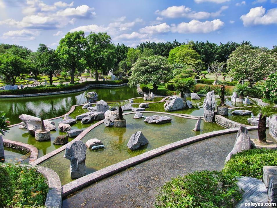 Stones Garden in Thailand
