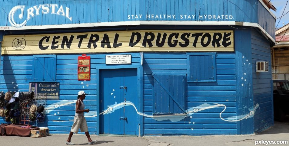 Entry number 108747 Central Drugs and Poisons, Belize City