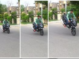 How to do Stoppie on