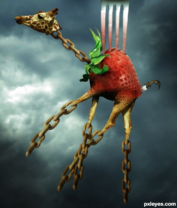 The Strawberry Giraffe