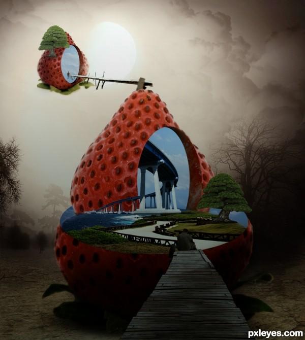 strawberry telling