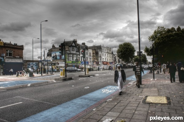 Whitechapel Road , London