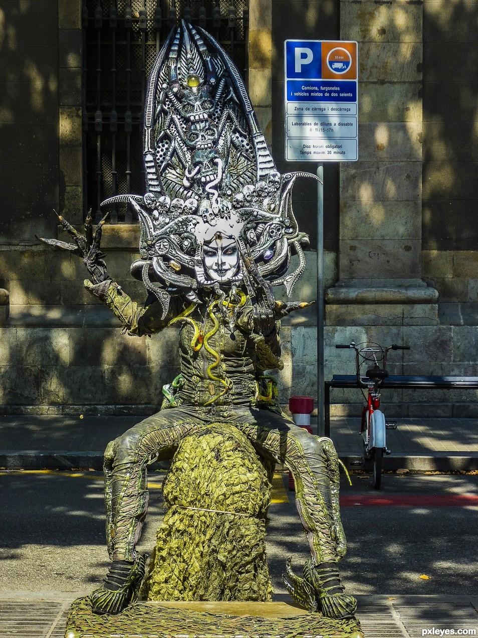 Alien in Barcelona