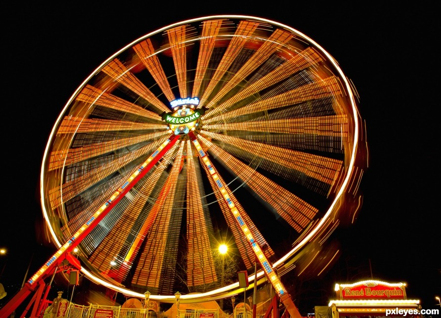 Ferris Wheel photography picture