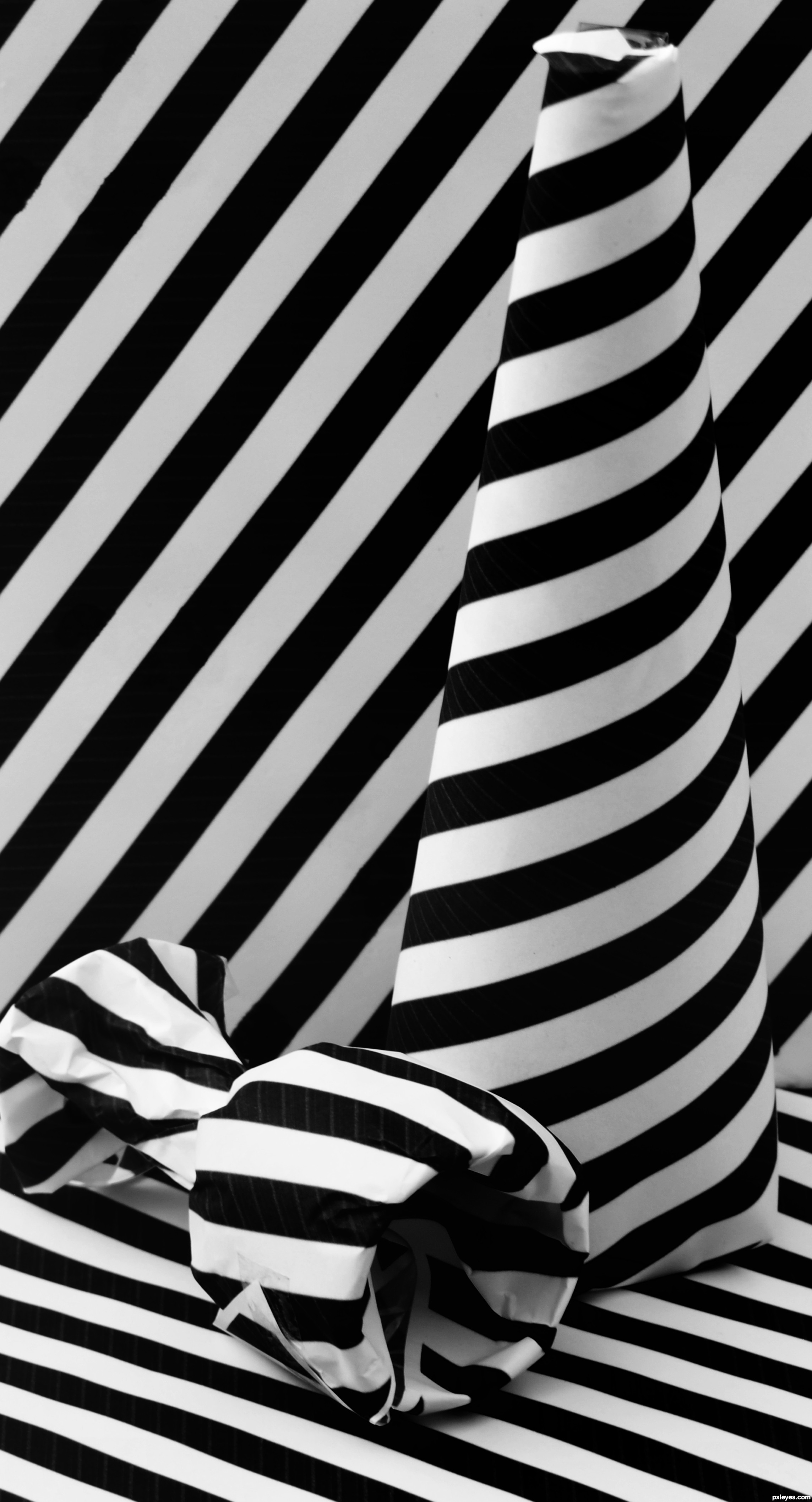 black and white stripes picture, by kathyw for: stripes ...