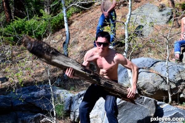 Caveman Log