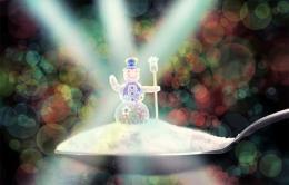 Miniature snowman Picture