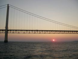 MackinawBridgeatSunset