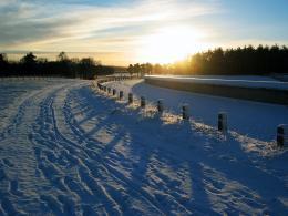 SnowySunset
