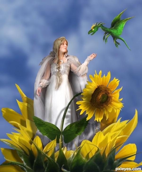 The flower Goddess