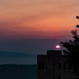 SunsetKrujcastle