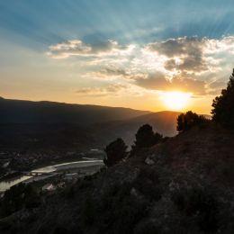 SunsetoverBerat