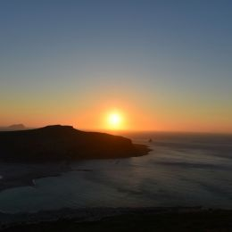 Sunset in Balos- Crete Picture