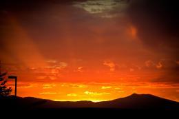 Orange Sunset Picture