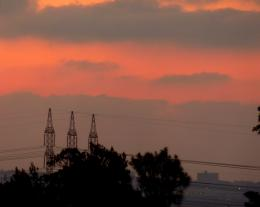 sunsetandpowerlines