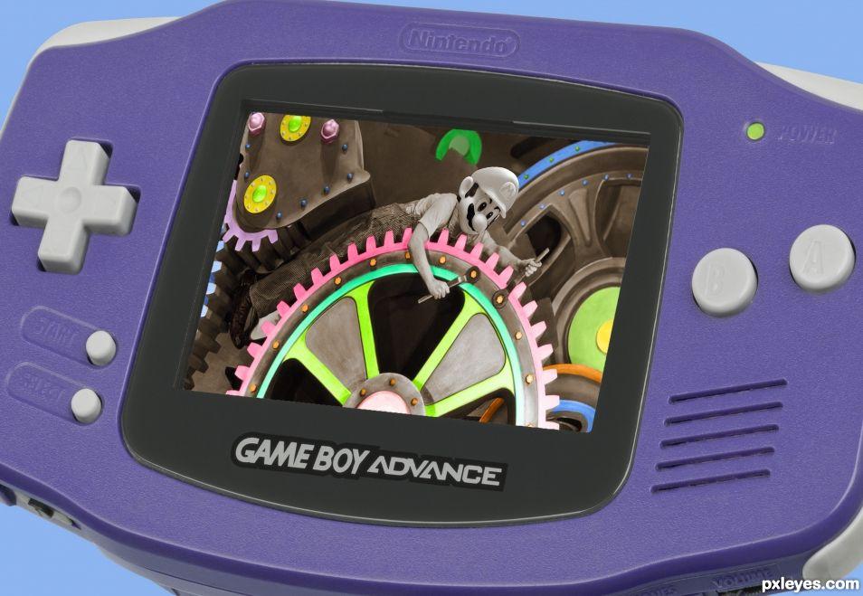 When Mario was a mechanic