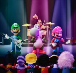 Mario Brothers Band Picture