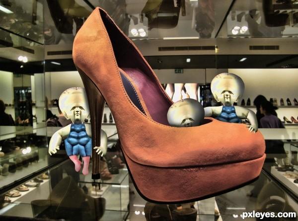 Super Shoe Gremlins Femme