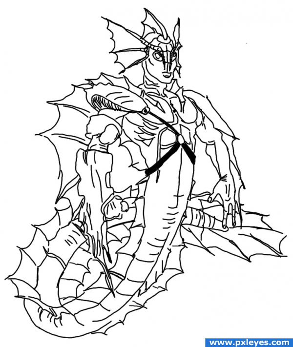 Superhero Drawings http://www.pxleyes.com/drawing-picture/4aa50eb2accbf/super-dragon.html
