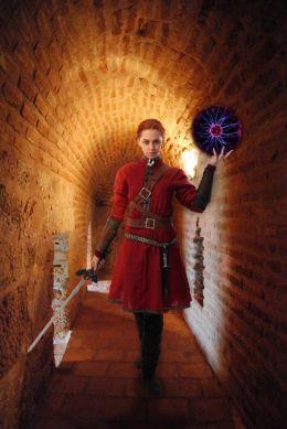 The Red Swordswoman
