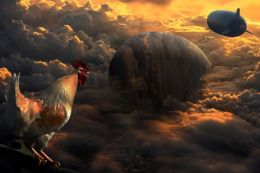 Enter The Red Dawn Rooster