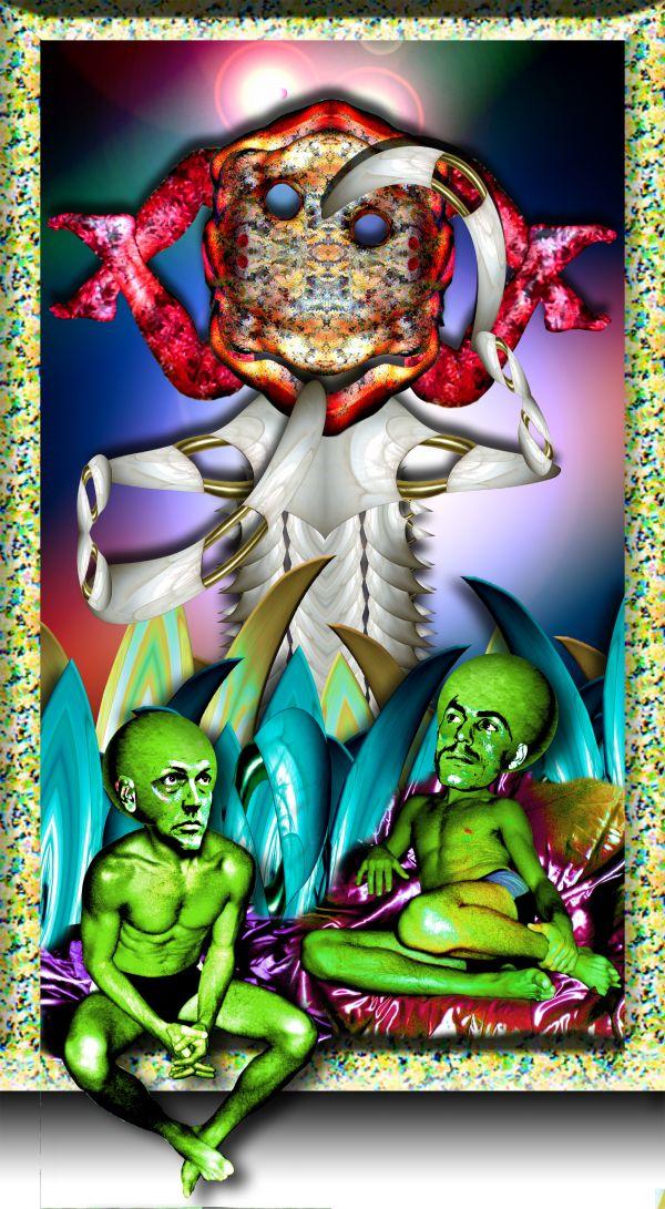 Martians Pondering God