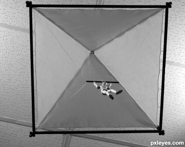 Da Vincis Parachute.