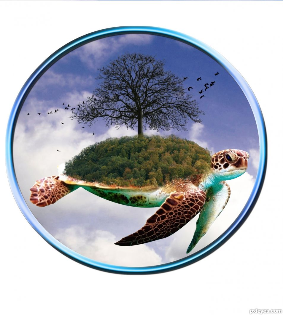 The Great Turtle and The World Tree