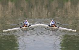 Rowing to nowhere
