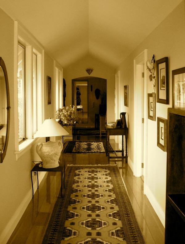 Our hallway ....