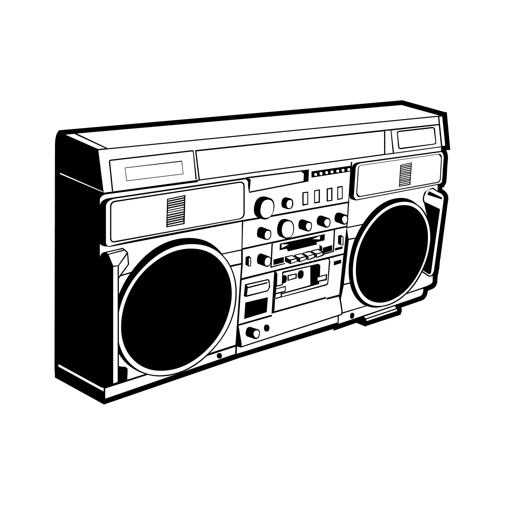 Photoshop guide the making of ghetto blaster pxleyes original image sciox Gallery