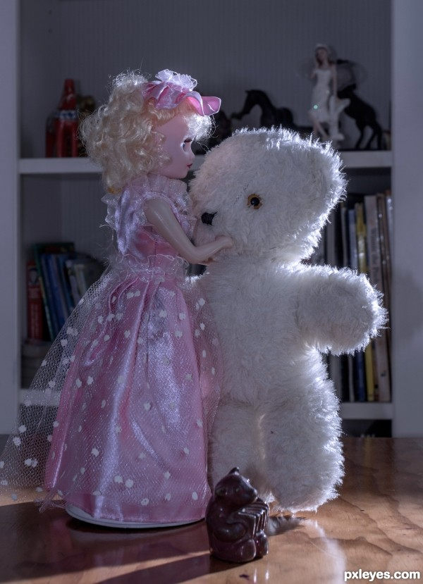 The Bear dance, while the children sleep.