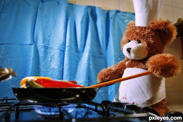 Creation of Chef Bear: Final Result
