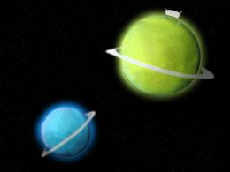 Tenis ball planets Picture