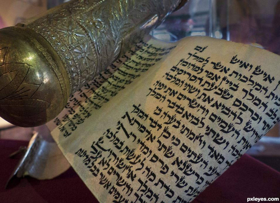 The scroll of Esther