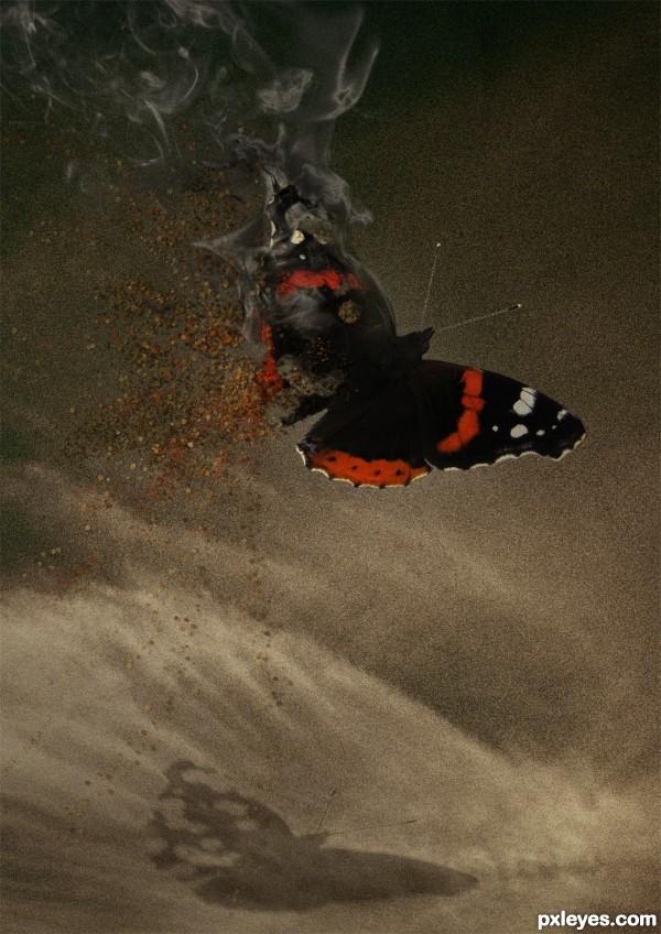 Creation of vanishing in flight: Final Result