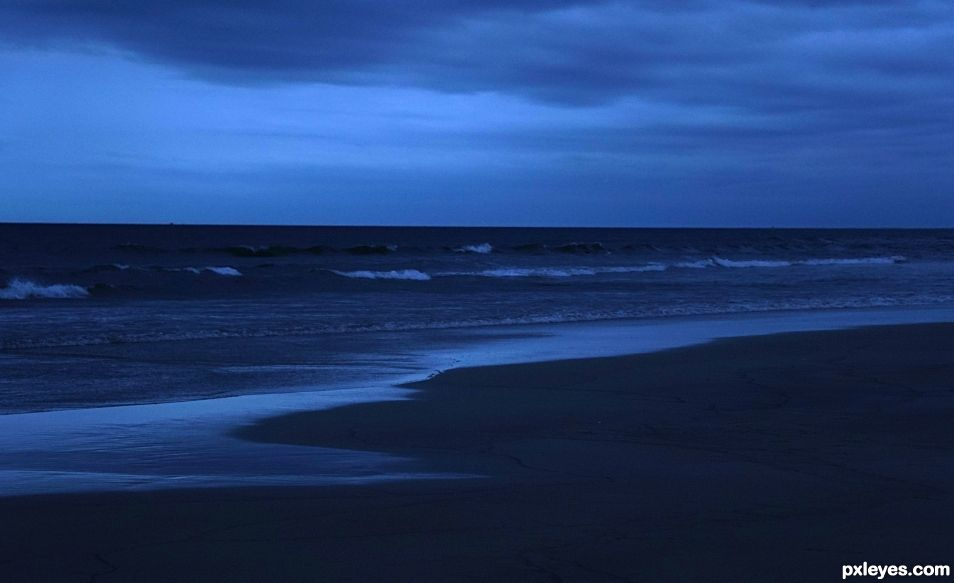 Evening Shades of Blue