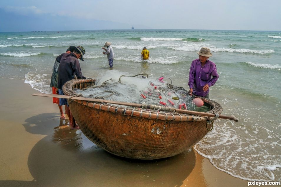 Bringing in the nets