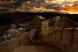 GreatWallatSunset