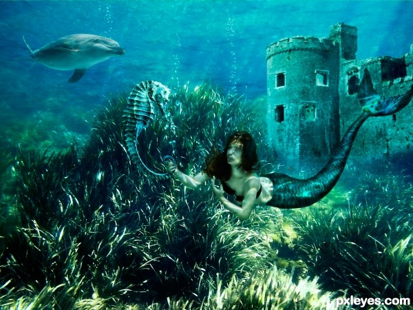 Forgotten underwater kingdom