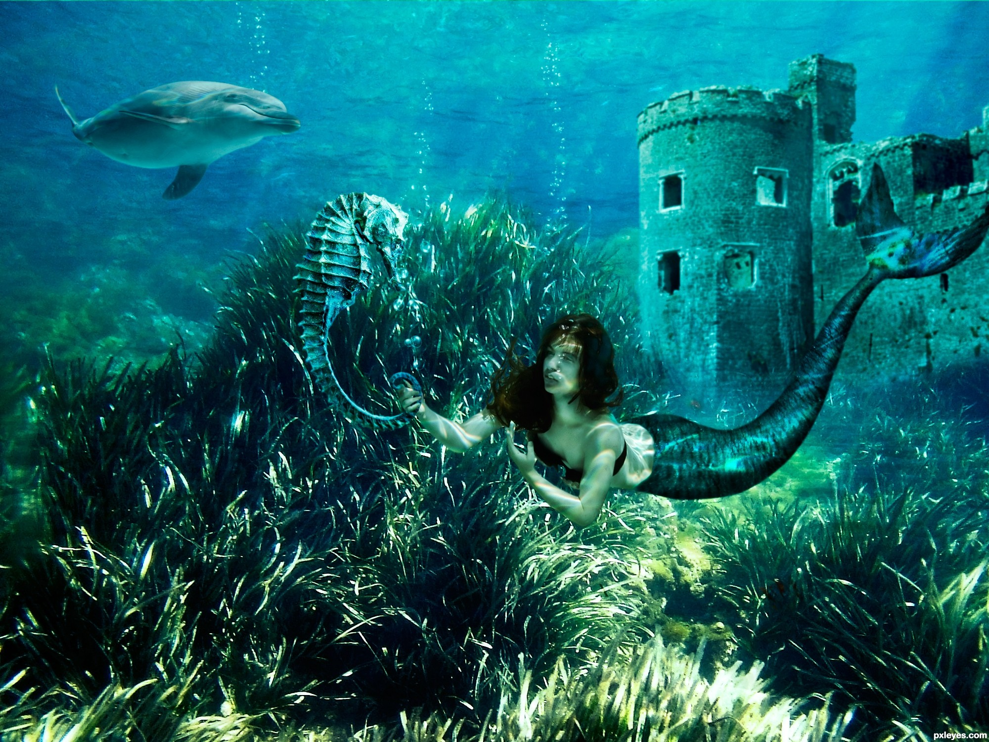Forgotten underwater kingdom picture, by divair for: the kingdom