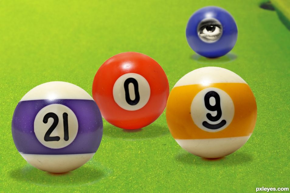There is No Ball Twenty One, Zero or Eye
