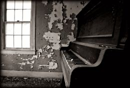 Play a Tune to the Peeling Paint