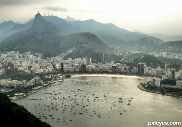 Corcovado view from Sugar Loaf - Rio de Janeiro (2010)